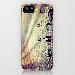 Meeting in the Forest - Vintage Camera Love iPhone Case