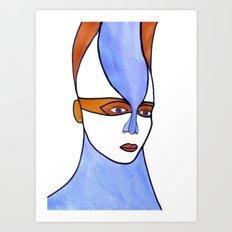 Venusta (previous age) Art Print