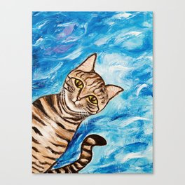 Hello Tabby Canvas Print