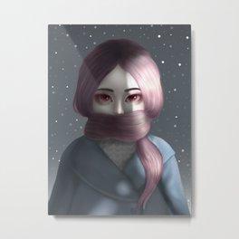Light and Dark Metal Print