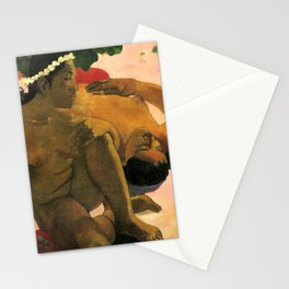Paul Gauguin - What! Are you jealous? - Eh quoi! Tu es jaloux? - Aha Oe Feii? Stationery Cards