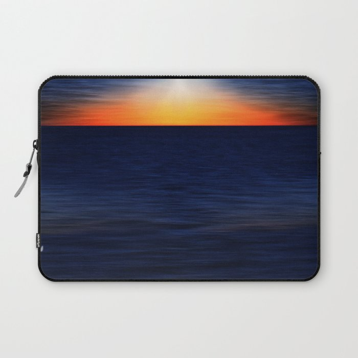 Angelslight over the sea Laptop Sleeve