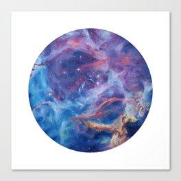 Rosette Nebula Canvas Print