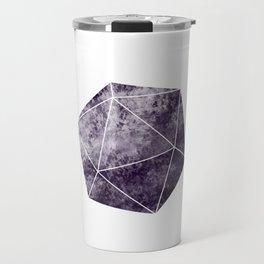 Purple d20 Dice Travel Mug
