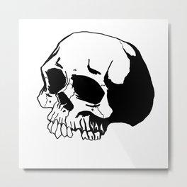 Skull #1 Metal Print