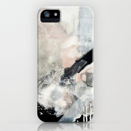 Saponification Abstraction iPhone Case