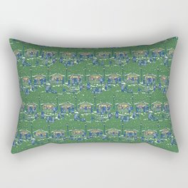 Let's Go to the Market at Night! – Xmas Edition Rectangular Pillow