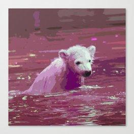 Polar Bear 2014-0908 Canvas Print