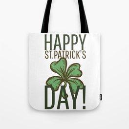 Happy St Patricks Tote Bag
