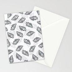leaf floral pattern Stationery Cards