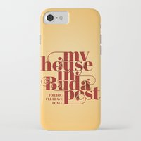 budapest iPhone & iPod Cases featuring Budapest by Lowso