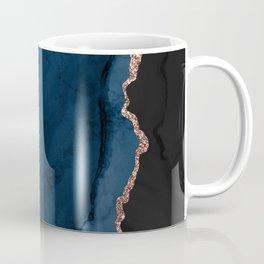 Beautiful Rose Gold Desert Design Pattern Coffee Mug