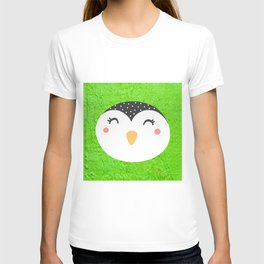 Peguin face T-shirt