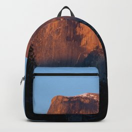 Half Dome at Sunset Backpack