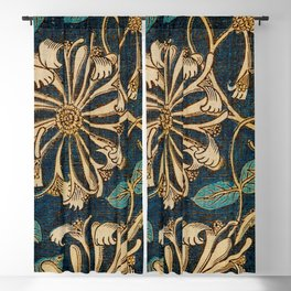 Honeysuckle (1876) by William Morris, Abstract II Poster Blackout Curtain