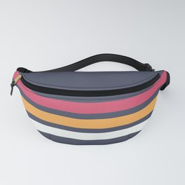 Classic Retro Stripes 2 Fanny Pack