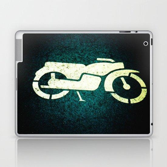 Scooter Parking Laptop & iPad Skin