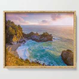 Magical Cove, Big Sur II Serving Tray