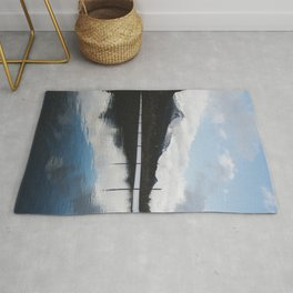 Snow-capped Reflections Rug