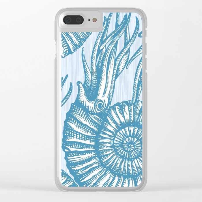 AMMONITE COLLECTION Clear iPhone Case