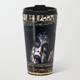 Stay Out of the Basement: Evil Dead Travel Mug