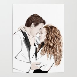 Carrie & Mr Big Poster