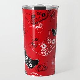 Video Game Red Travel Mug