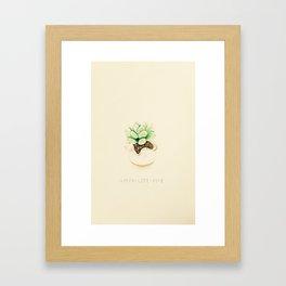 Cactus (Green-Life-Hope) Framed Art Print