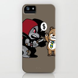 Animal Robbery iPhone Case