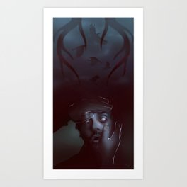 Will Graham from Hannibal Art Print