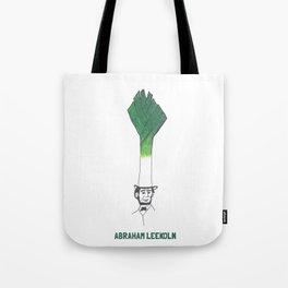 Abraham Leekoln1 Tote Bag