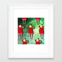 katamari Framed Art Prints featuring Katamari Cousins - Ichigo by cakeisforrobots