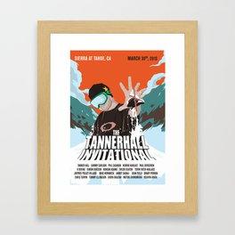 Tanner Hall Invitational Framed Art Print