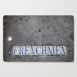 New Orleans Frenchman Street Cutting Board