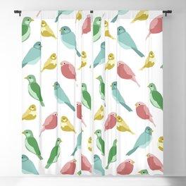 Hello Spring Birds! Blackout Curtain