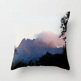 Cradle Mountain Sunrise Throw Pillow