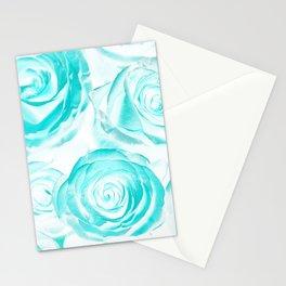 acid rose Stationery Cards