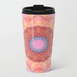 Bohemian Spirit Peace Mandala Metal Travel Mug