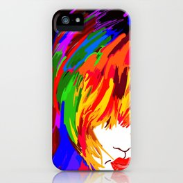 Women's Hair iPhone Case
