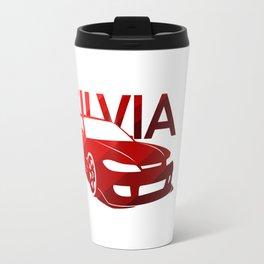 Nissan Silvia S15 - classic red - Travel Mug