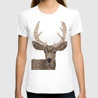 antlers T-shirts featuring Antlers by ArtLovePassion