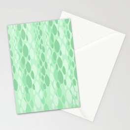 Weeping Willow Abstract Pattern Stationery Cards