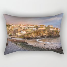 Madeira sunset Rectangular Pillow