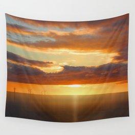 Irish Sea - Heavy Skys (Digital Art) Wall Tapestry