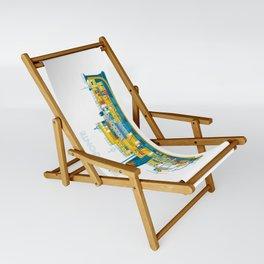 BELAFONTE - The Life Aquatic with Steve Zissou Sling Chair
