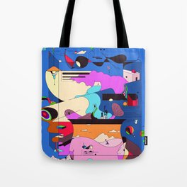 Sushi Night Tote Bag