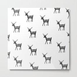 Delightful deer Metal Print