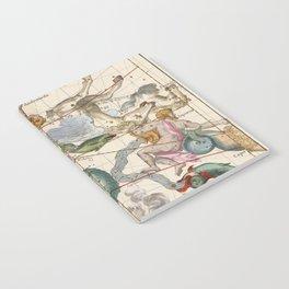Vintage Constellation Map - Star Atlas Notebook