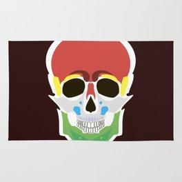 Rasta Skull Rug