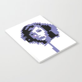 8 Bit Portrait of a Girl Notebook